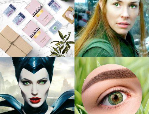 Есть что-то магическое в зелёных глазах! — Попробуй и ты Silicos цвета Green✔